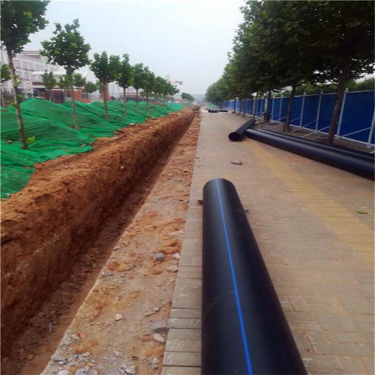 灌溉pe管施工